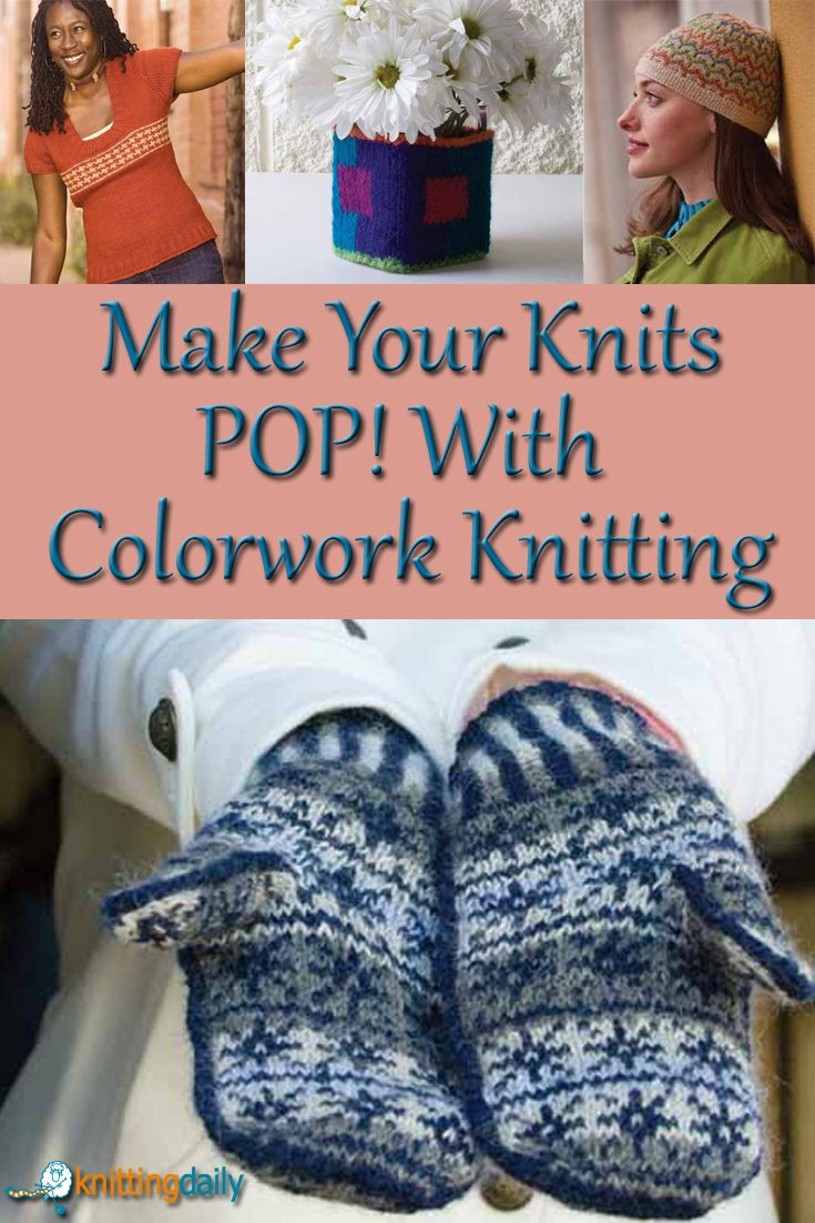 50 best color knitting images on pinterest knitting ideas exploring color knitting 7 free patterns bankloansurffo Choice Image