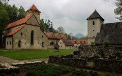 Red monastery, Pieniny national park, Slovakia