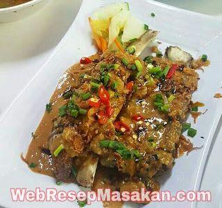 Resep Konro Bakar Saus Kacang Makassar