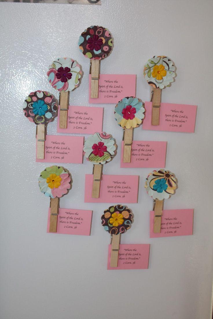 Cute way to memorize scriptures!