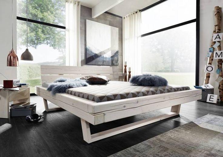 Die besten 25+ Bett weiß 180x200 Ideen auf Pinterest Bett - schlafzimmer weiss hochglanz