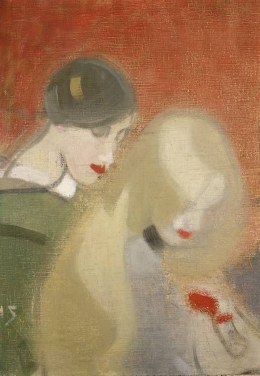 "Helene Schjerfbeck (Finnish, 1862-1946) ~ ""The Family Heirloom"""