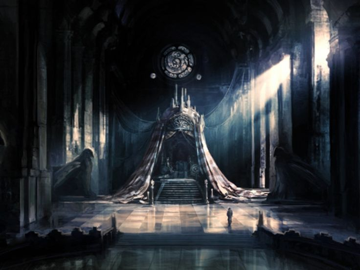 throne fantasy empress room castle artwork dark anime concept medieval books light underworld empire setting magic keya decide might being