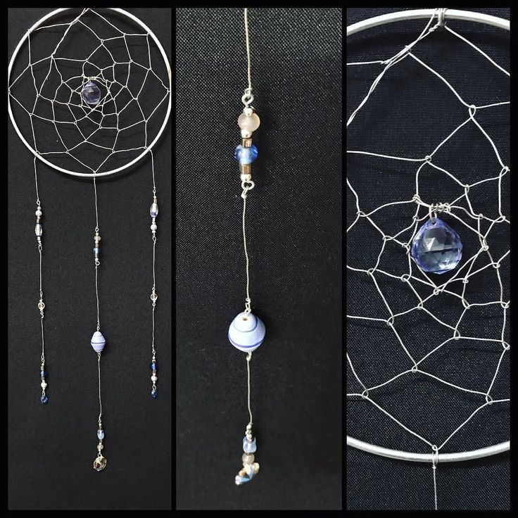 Available now! Handmade wire Dreamcatcher! Beautiful beads and sun catching blue glass crystal! Completely unique!! #torileydesigns #stunning #statement #suncatcher #dreamcatcher #blue #handmade #wire #unique #oneofakind #available http://ift.tt/2rLdB4E
