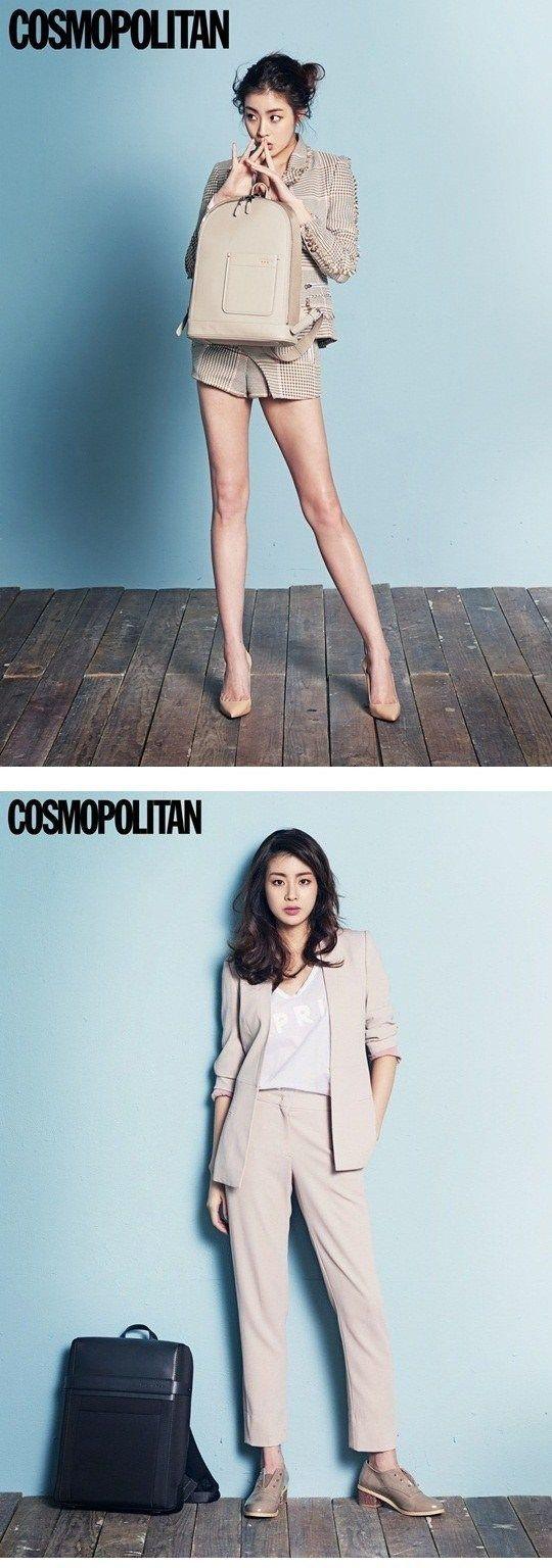 """Kang So Ra se transforma en una mujer de negocios para """"Cosmopolitan""""   Todo Hallyu"""