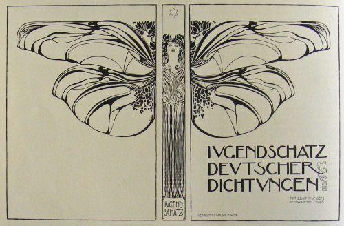 Illustrated by Koloman Moser, Ver Sacrum, 1898. Via.
