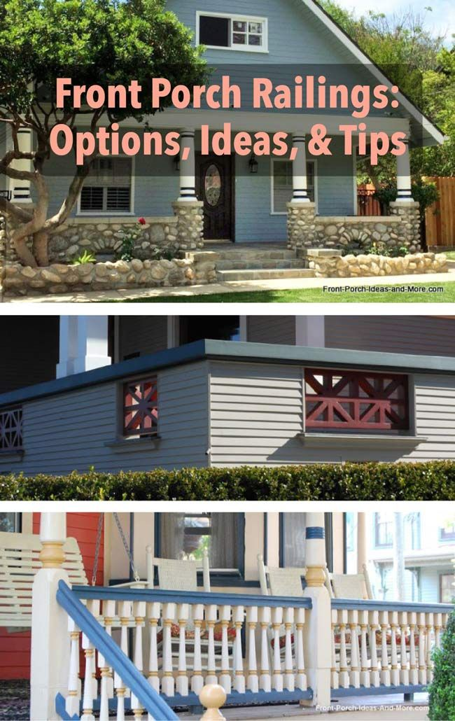 Best 25 porch railings ideas on pinterest front porch for House plans with porch across front
