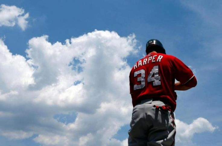 No 34... 570... Nine... 368... You're 220 at age 23... Bryce Harper (Washington National) Numbers Explained