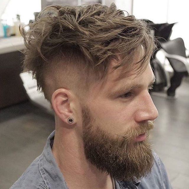 Inspiração de Undercut com Barba   Quem curte esse Estilo?  Loftmasculino.com para + Dicas... ▫️ Use #LoftMasculino e mostre seu Estilo! - #barba #beard #hairstyle #acessorios #lookbook #barbudo #guy #men #homem #modamasculina #hair #blog #fashion #cabelo #estilo #modaparahomens #instaboy #cool #moda