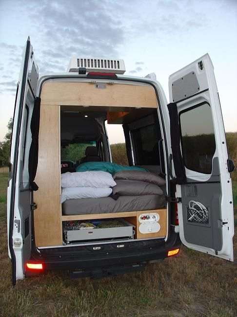 96 best images about beds in campervan conversions on for Mercedes benz conversion vans for sale