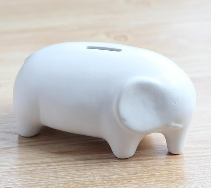 Large Piggy Bank Creative Gifts Black And White And Dichromatic Ceramic Animal Piggy Bank Money Coin Bank Tirelire-in Money Boxes from Home & Garden on Aliexpress.com | Alibaba Group