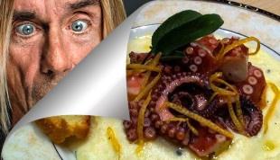 Polpo alla Iggy Pop by Vittoria Fitz Williams / Iggy Pop's Octopus