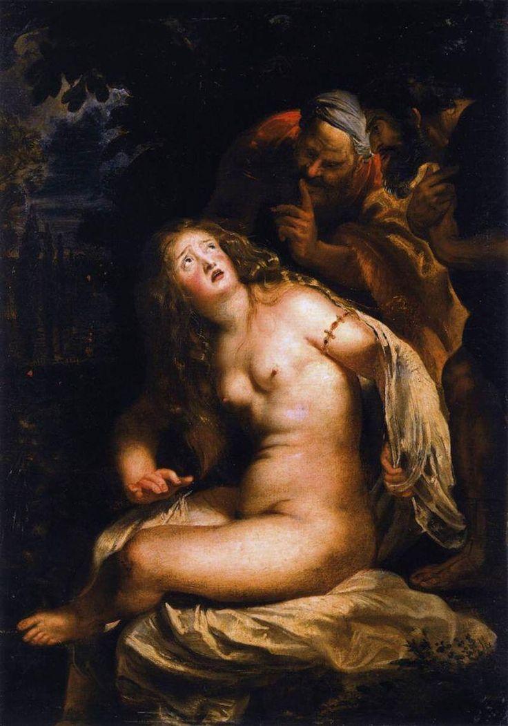 Crónica ilustrada de la actualidad Susana y los viejos, Rubens 1607 pic.twitter.com/SsJCD6Llci