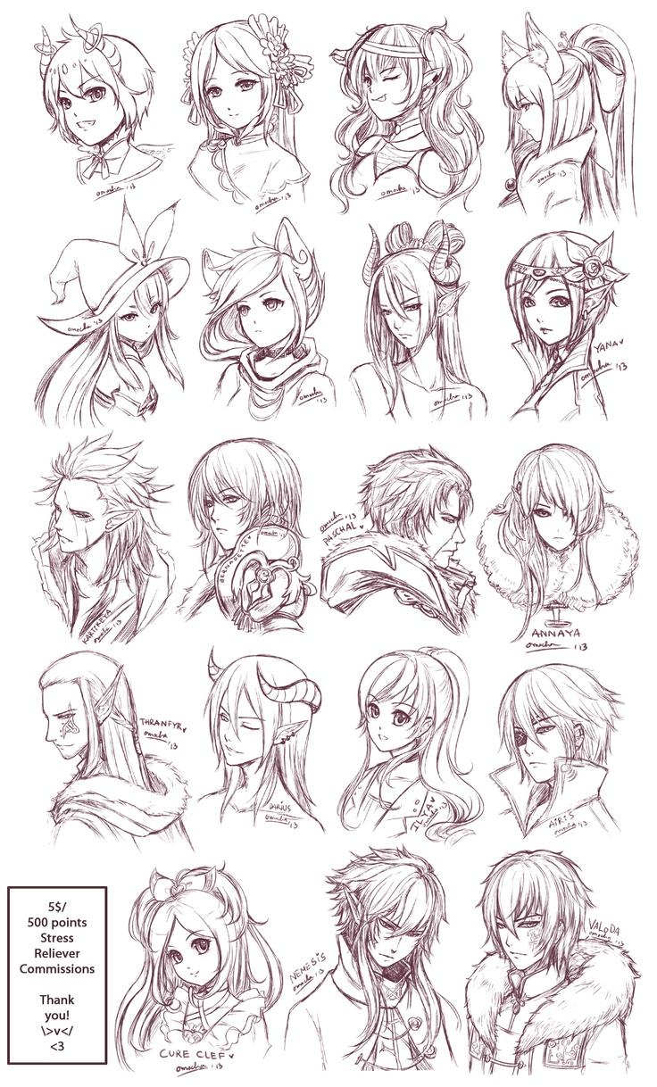 SRC - Batch6 by omocha-san.deviantart.com on @deviantART cute anime doodles <3