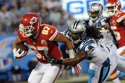 Travis Kelce makes another big play, could be a solid fantasy tight end - Yahoo Sports