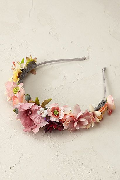Anthropologie EU Summer Bouquet Headband