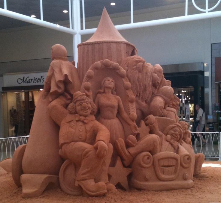 Sand sculpture edgewater mall biloxi ms 5 22 12