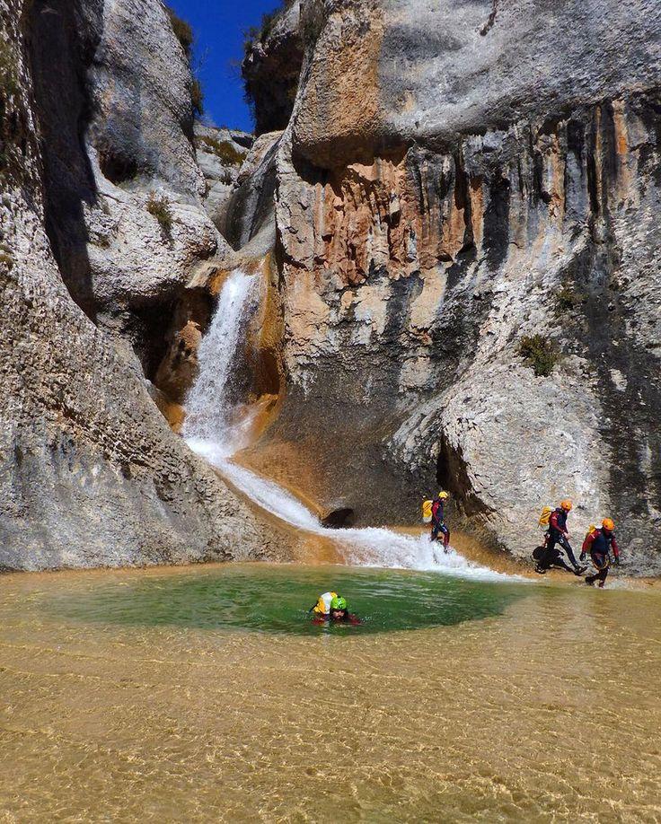 Cascada de Peña Guara