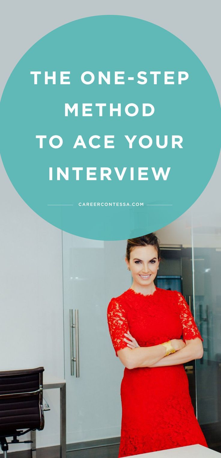 The 3-Step Method to Ace Your Job Interview