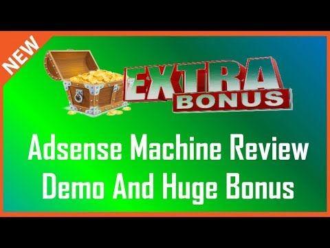 Adsense Machine Review | Adsense Machine Bonus - YouTube