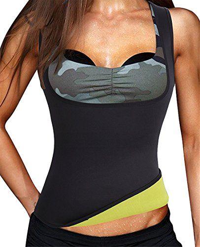 22f05024c4 Herrlich Hot Sweat Sauna Body Shaper Women Slimming Vest Thermo Neoprene Waist  Trainer