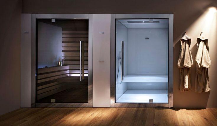 Steam Bath and Finnish Sauna togheter