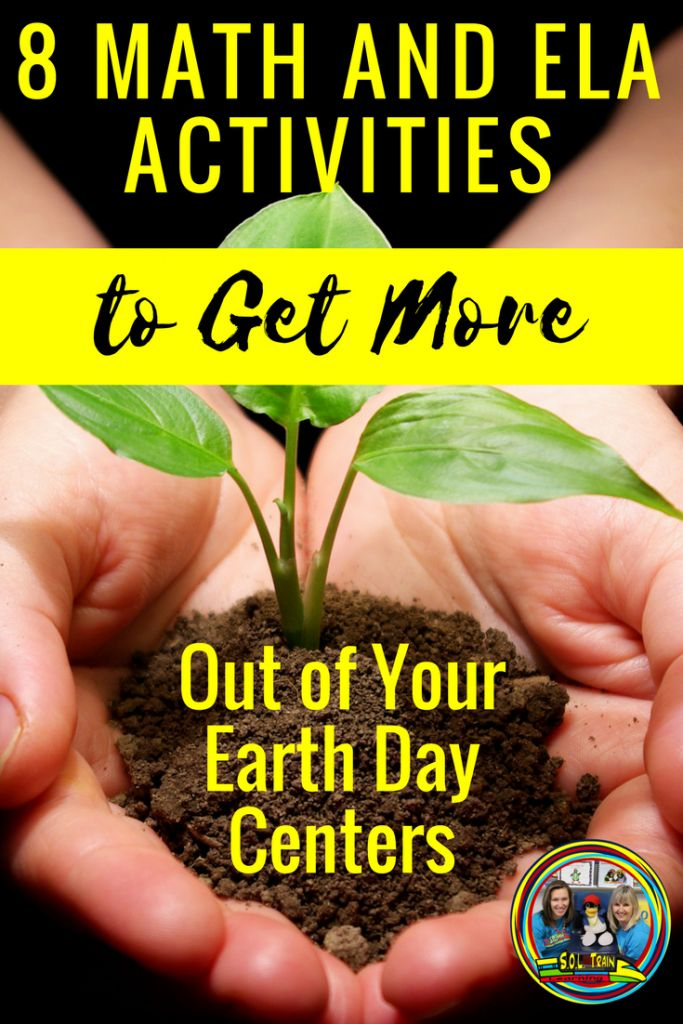 Get More Out of Your Earth Day Centers using these 8 Math and ELA activities!  Your students will love learning about how to take care of their Earth as they do these fun and engaging math and reading activities. #earthday #activities #mathgames #vocabulary #languagearts #scienceforkids#soltrainlearning #teacherspayteachers #teachersofinstagram #teachersfollowteachers #learningisfun #wordoftheday #springkids#kidsactivities