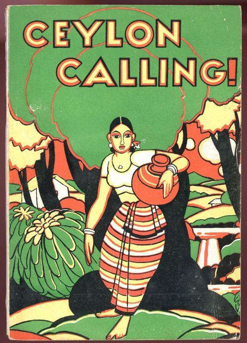 "jellobiafrasays: ""jellobiafrasays: "" ceylon calling! (ceylon government tourist board, 1952) "" rescan, reblog """