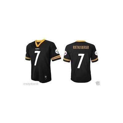 Nfl Team Apparel Boy's Jersey- Pittsburgh Steelers, Size: Xxl (18)