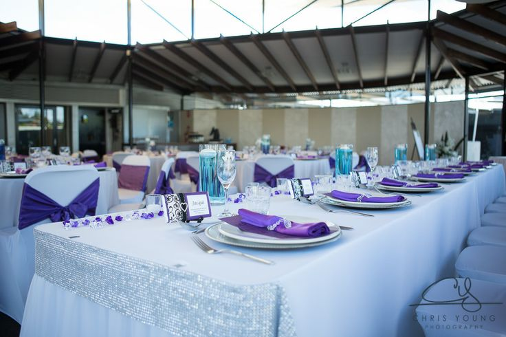 Gorgeous.  We love bling around the bridal table.  Styled by Event Avenue.  Contact us for details of how this could be your wedding reception.  http://www.tailracecentre.com.au/contact/ http://www.tailracecentre.com.au/2014/01/06/chris-angela-barwicks-wedding/