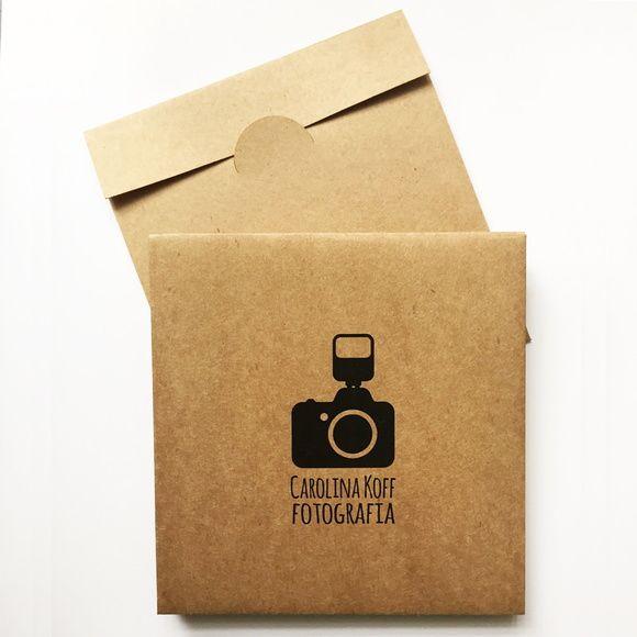 Embalagem Kraft CD/ DVD Personalizada