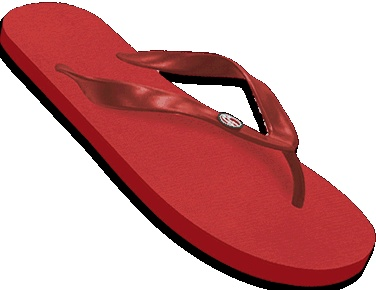 The House Red - FlyingFlips FlipFlops $22 FlipFlops for GOOD