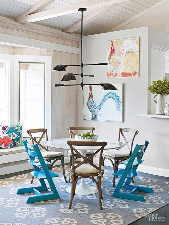 Learn about design trends that are happening in home decor now! Vaulted ceilings, metallic room accents, versatile kitchens, and other ideas that will inspire you to maybe remodel a room in your house soon.