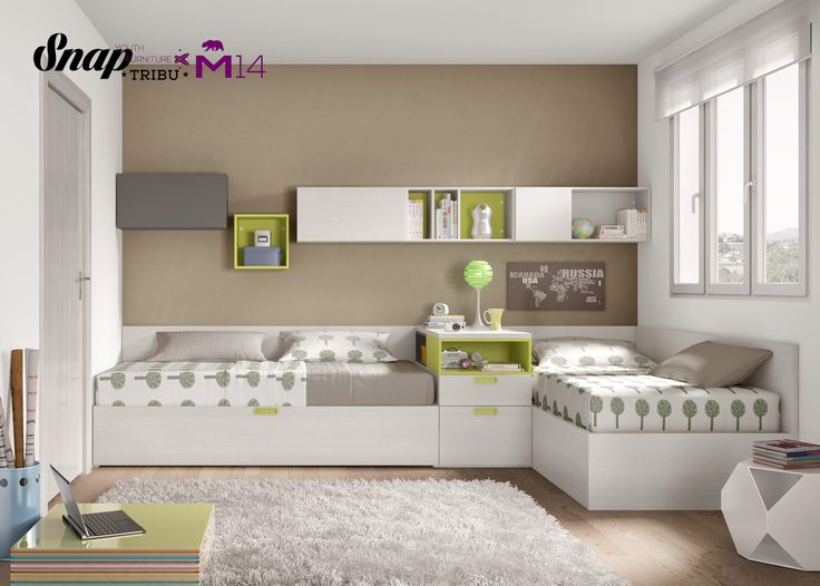 M s de 25 ideas fant sticas sobre habitaciones compartidas - Habitaciones infantiles compartidas ...