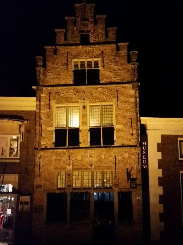 Het museum bij avond 628 best Edam
