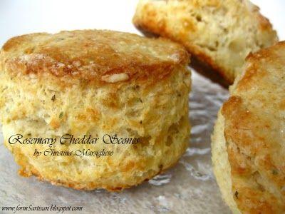 rosemary cheddar scones