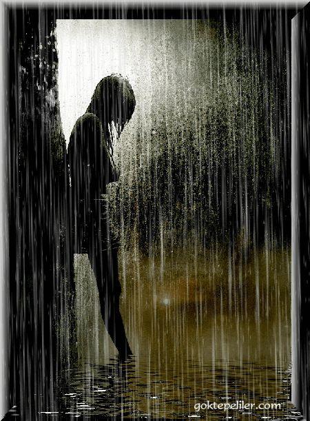 Sulking in the rain