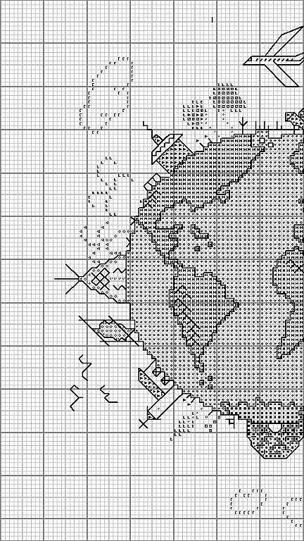 Just Cross Stitch Patterns | All around the world 1 of 3