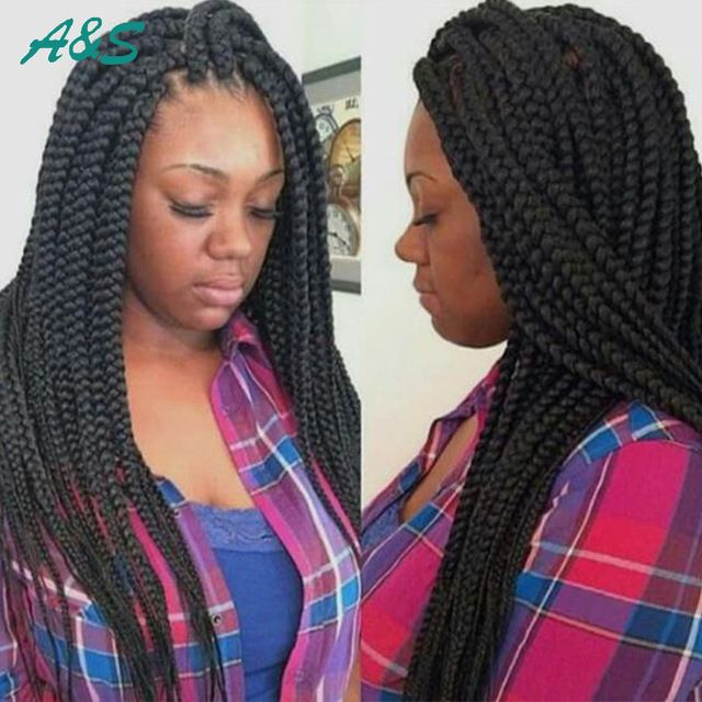 box braids hair crochet braids hair havana mambo crotchet twist braids ...