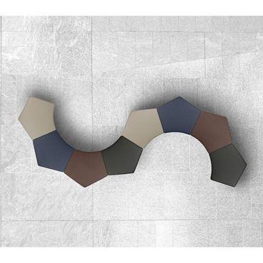 Modular Pentagonal Stool - Lounge Seating   National Business Furniture