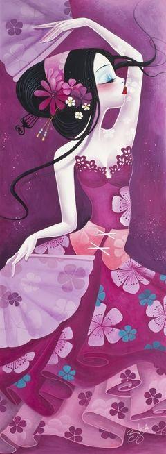 la jolie petite dame ... plongée dans mon imaginaire de petite fille !!!