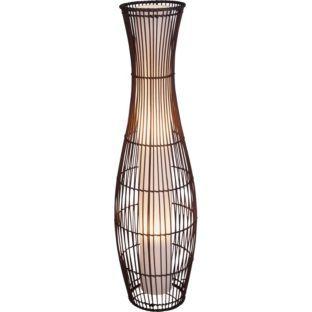 Buy Living Skittle Rattan Floor Lamp - Dark Brown at Argos.co.uk - Your Online Shop for Floor lamps.
