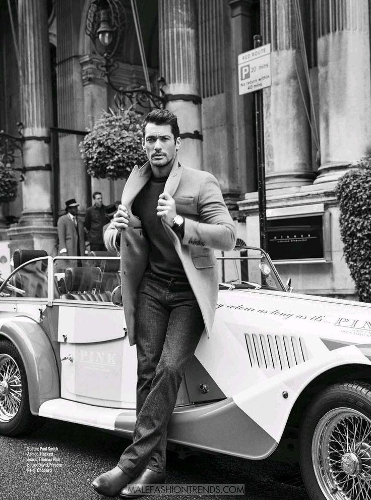 Male Fashion Trends: David Gandy para GQ México Octubre 2016