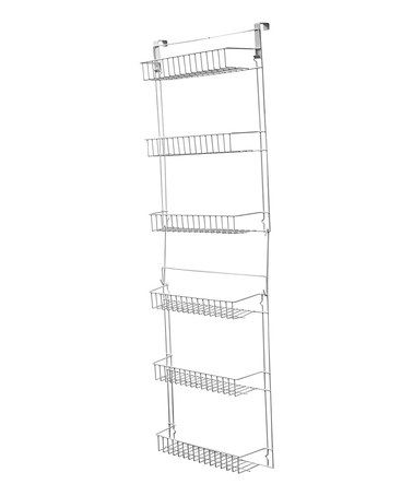 Great price on this over the door storage basket rack! I have one in my kitchen and I love it - #zulilly