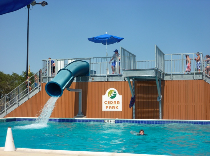 Veterans Memorial Pool In Cedar Park Another Favorite Place To Visit In Texas Summer