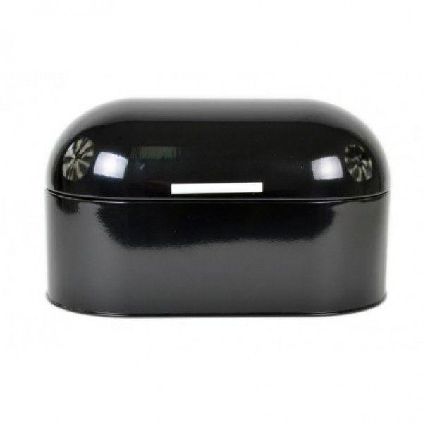 Chlebník Odelo Retro dizajn, OD1196B, čierný