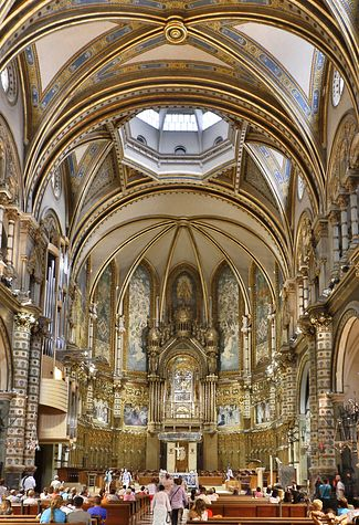 Montserrat Monastery, Catalonia, Spain. | Man-Made Structures That Will Fry Your Brain