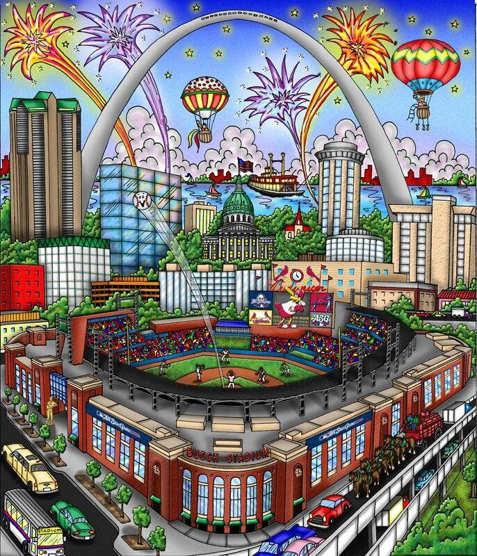 Cardinal Baseball in St. Louis