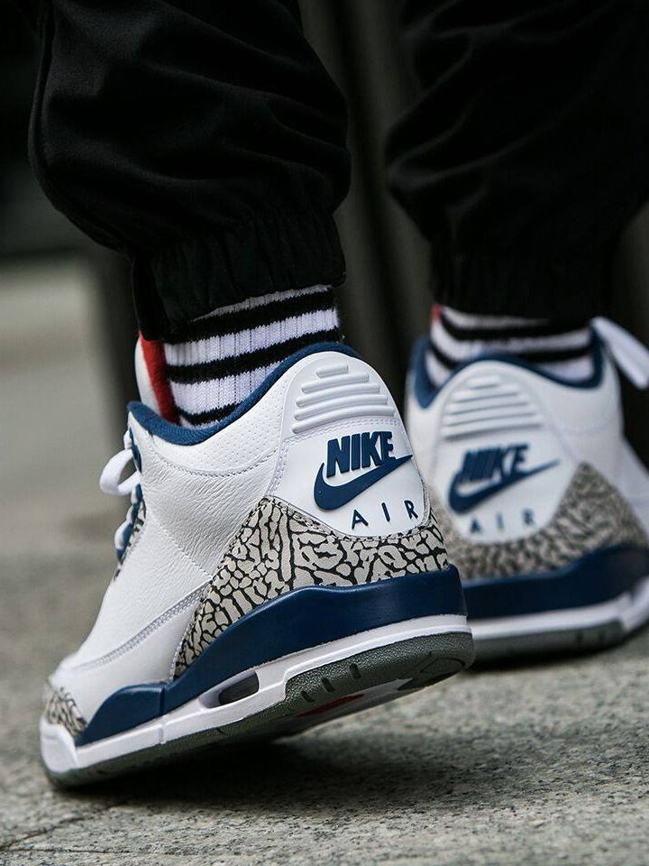 Nike Air Jordan 3 Retro OG  True Blue  - 2016 (by worldbox) Pack and travel  with shoe trees by Sole Trees  Sneakers  ShoeTrees  SoleTrees   ... fb41509009