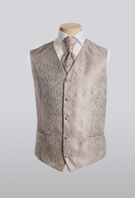 Жилет для мужчин классический с пластроном | Vest for men classic with plastron